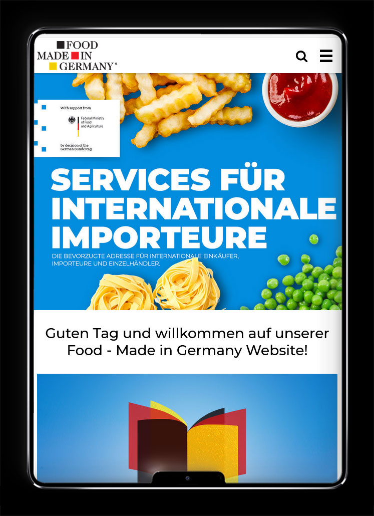 Galeriebild / Food – Made in Germany